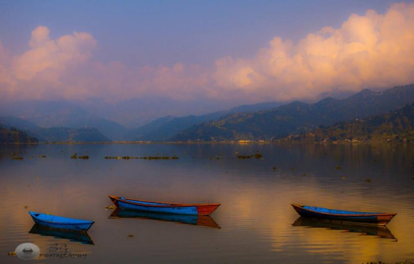 Fewa lake , Nepal