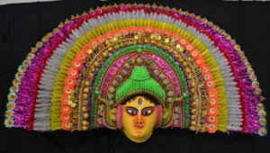 Chhau mask, traditional cultural heritage of Purulia