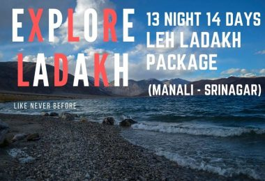 explore ladakh 13 night 14 days